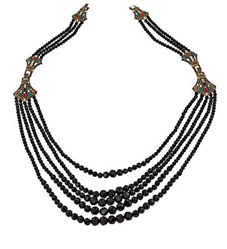 Heidi Daus Swarovski Crystal Multi-Strand Necklace & Bracelet Set~Age of Elegance(Jewel Multi) (M/L)