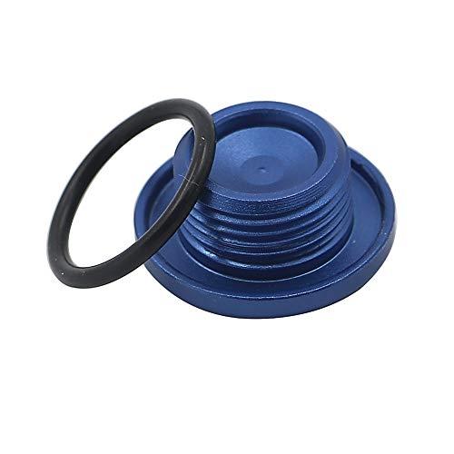 - Alpha Rider Top Crankcase Oil Filler Plug & O-Ring For Yamaha YFM 700 Raptor Quad Blue