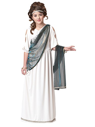 California Costumes Roman Princess Child Costume, -