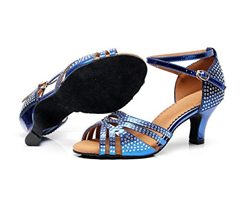 Royal Minitoo Da Minishionus Sala Heel Blue 6cm qj7152 Donna 14Xw4