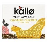 Kallo Organic Low Salt Chicken Stock Cube 51G (Pack Of 4)