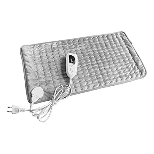 JSX Electric Heating Pad Physiotherapy Heating Pad, Back Therapy Pad Small Electric Blanket 60X30cm 110/220V,A (Left Shoulder And Neck Pain Causing Headaches)
