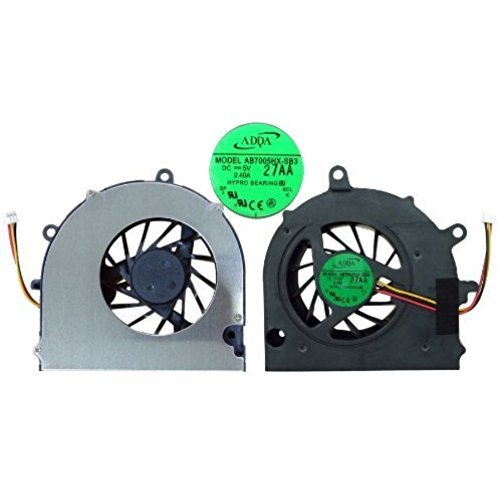 wangpeng® CPU Cooling Fan for Toshiba Satellite A500 A505 Fit Part Numbers AB7005HX-SB3