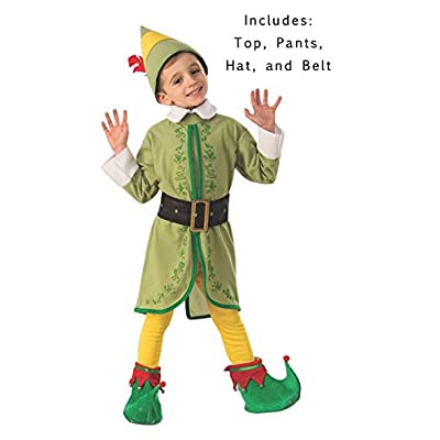 Rubie's Costume Buddy The Elf Boys Costume: Toys & Games