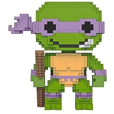 Funko 8-Bit Pop!: Teenage Mutant Ninja Turtles - Donatello Collectible Figure: Funko 8-Bit Pop!:: Toys & Games