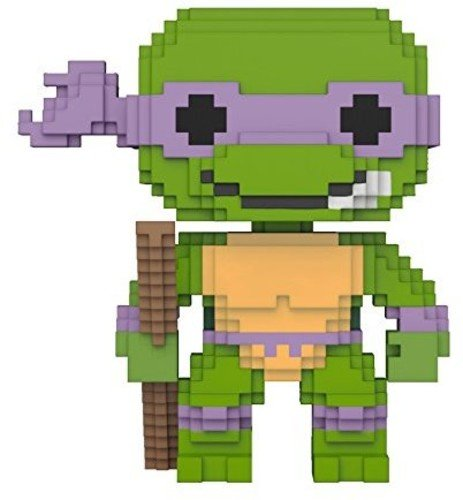 Funko 8-Bit Pop: Teenage Mutant Ninja Turtles-Donatello Coll
