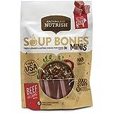 Rachael Ray Nutrish Soup Bones Minis Dog Treats, Real Beef & Barley Flavor, 6 Bones, 4.2 Oz. Bag (Pack Of 8)