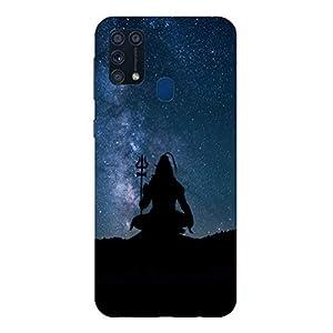 "TRUEMAGNET Premium ""Lord Shiva"" Printed Hard Mobile Back Cover for Samsung Galaxy M31/Samsung Galaxy F41/Samsung…"