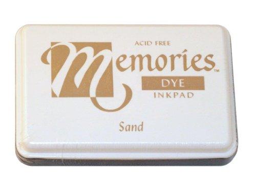 Memories 02-MEMS Acid-Free Dye Inkpad, 2-1/4 by 3-1/2-Inch, Sand