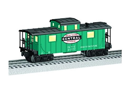 Lionel 683186 New York Central Caboose, O Gauge, Green, Black, Red, ()