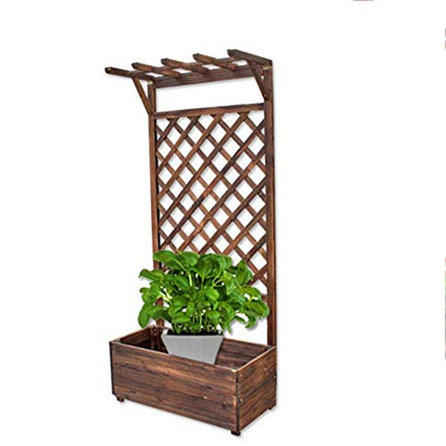 Multi-Function Flower Rack Flower Stand, Multi-Layer Solid Wood Floor-Standing Flower Stand, Hanging Plant Stand, Balcony Flower Stand, JINRONG (Color : ()