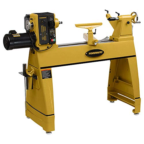 Powermatic 1353001 2 hp 220V 1PH 3520C Lathe with Risers