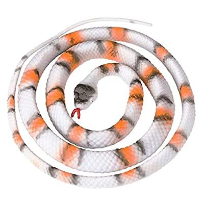 Rhode Island Novelty 48 Inch Rubber Grey Banded King Snake, One per Order: Everything Else