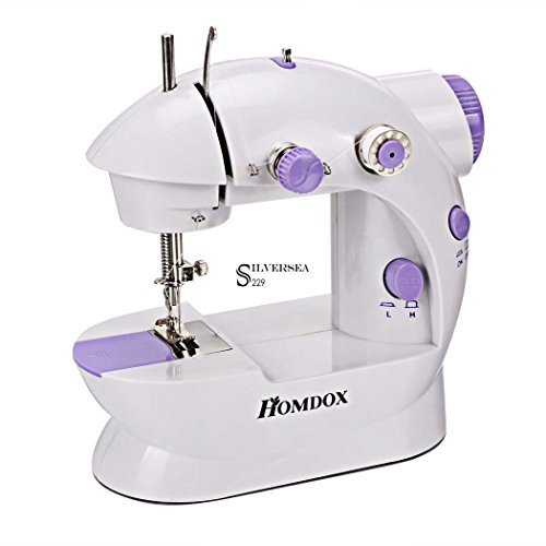 Nut Shop New Mini 2 Speed Electric Portable Desktop Sewing Machine Hand Held Household