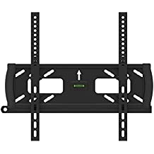 "Black Adjustable Tilt/Tilting Wall Mount Bracket with Anti-Theft Feature for Vizio E550i-B2E 55"" inch LED HDTV TV/Television"