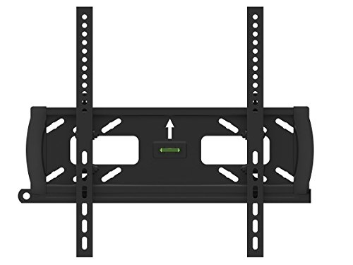 "Black Adjustable Tilt/Tilting Wall Mount Bracket with Anti-Theft Feature for Sceptre E405BD-FMQR 40"" inch LED/DVD Combo HDTV TV/Television"