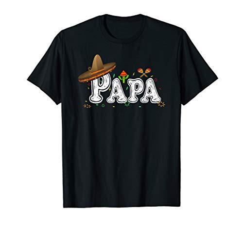 Papa Cinco De Mayo Shirt Fiesta Mexican Party Daddy Father's]()
