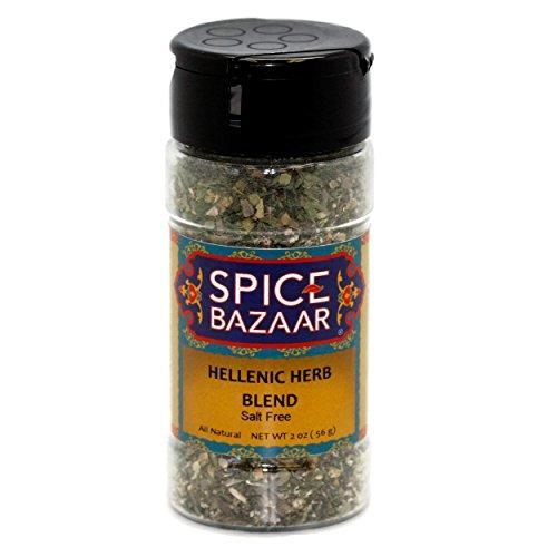 Spice Bazaar Hellenic Herb Blend (Salt-Free) - 2 oz