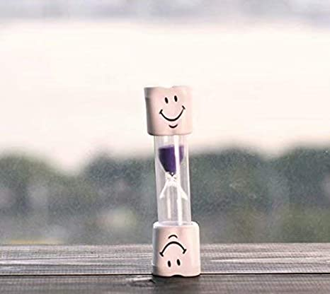 Liroyal Temporizador de cepillo de dientes para niños ~ Temporizador de arena sonriente de 2 minutos para cepillar los dientes de los niños: Amazon.es: ...
