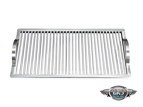 """Stainless Steel Charcoal Grate 15"""" x 30"""" (Grill Grates, Stainless Steel Grill Grates, BBQ Grates, Custom Grill Grates, Cooking Grate, Barbecue (Custom Grill Grates)"""