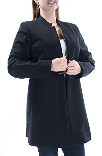 Alfani $129 Womens New 1258 Black Open Cardigan Long Sleeve Casual Top 14 B+B
