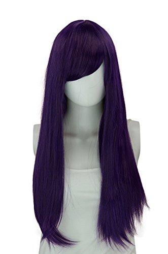 Epic Cosplay Nyx Shadow Purple Long Straight Wig 28 Inches (11SHU)