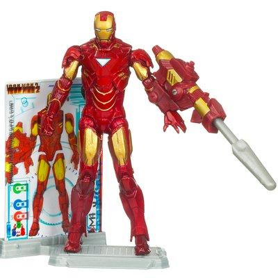 Disney Iron Man Mark VI Iron Man 2 Action Figure -- 4 (Iron Man 2 Toys)