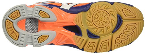 blue Depths white 6 Orange Wave homme Bolt Fish Mizuno Arancione Mid Clown BqvPqw4