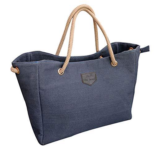 Shopping Tote In Tracolla Tela A Borsa Feixiang Blu Per Borse Da Mano Wv8FZ7yxqw