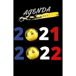 Agenda foot 2021 2022: Organiseur Scolaire (Août 2021 / Juillet 2022) Pour Étudiants Collège, Lycée – Planificateur… 12