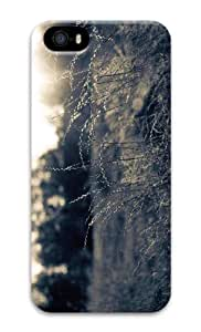 iPhone 5 3D Hard Case Summer Field Black And White by supermalls