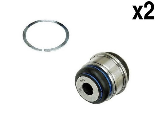BMW 1995+ Rear Ball Joint +Snap Ring L+R (x2) FEBI wheel carrier bushing - Febi Ball Joint