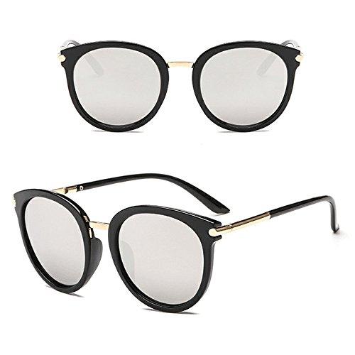 YEZIJIN Women Men Vintage Clout Cat Eye Unisex Sunglasses Rapper Grunge Glasses ()