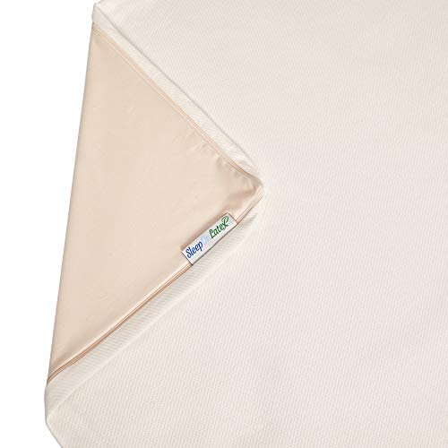Sleep On Latex Mattress Topper Cover 3 Inch Full Cover Only
