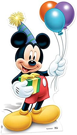 STAR CUTOUTS - Disfraz para Adulto Mickey Mouse (SC601): Amazon.es ...