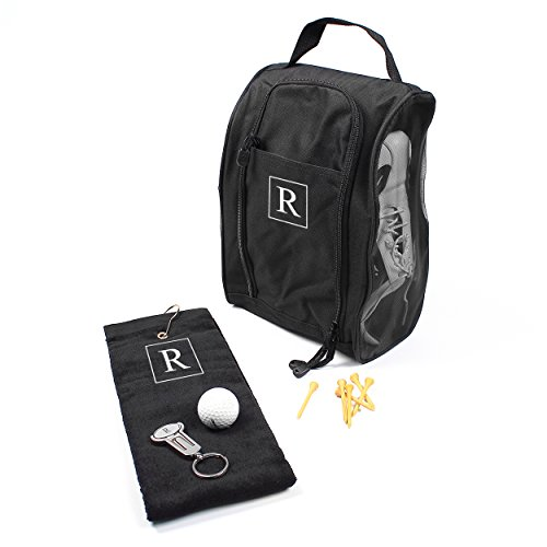 Cathy's Concepts Personalized 3pc Golf Set, Monogrammed Letter R (Golf Shoes Personalized)