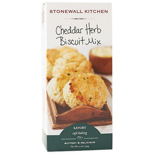 Stonewall Kitchen Cheddar Herb Biscuit Mix, 12 Ounce Box Cheese Herb Biscuits