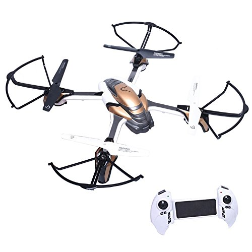 KAI DENG K80C Pantonma RC Drone Quadcopter with 5 MP Camera, Altitude Hold, Headless Mode, Easy for Beignners (Pantonma with 5 MP camera) White Color