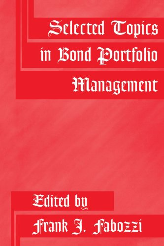 Selected Topics in Bond Portfolio Management by Brand: Wiley
