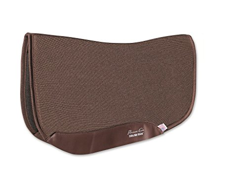 Professional Choice CHOCOLATE SMX AIR RIDE ORTHOSPORT BARREL SADDLE PAD