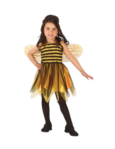 [Bumble Bee Costume - Toddler] (Bee Toddler Costumes)