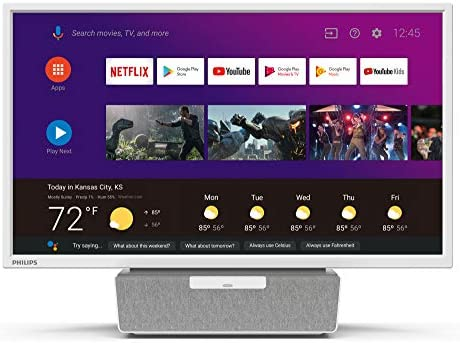 "Philips 6000 Series 24"" Android Kitchen TV with Google Assistant - 24PFL6704"