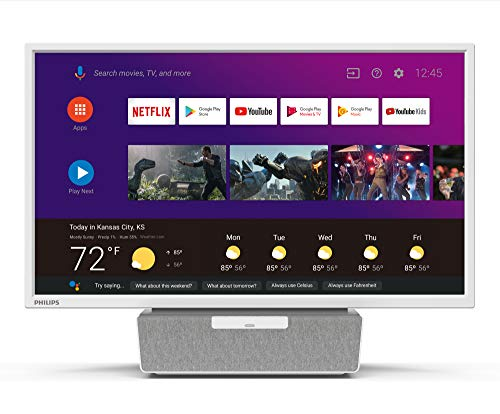 "Philips 6000 Series 24"" Android Kitchen TV with Google Assistant - 24PFL6704 1"