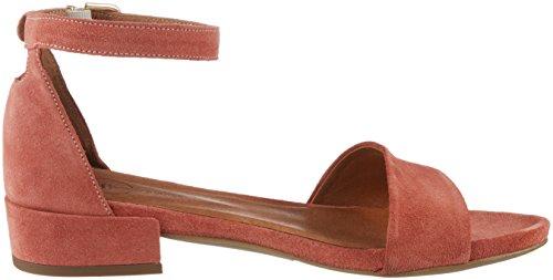 Pink Damen Light Classic Sandal Bianco Suede Pink Riemchensandalen Rz4PzWgn