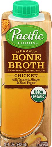 Pacific Foods (NOT A CASE) Broth Bone Chicken Turmeric Ginger