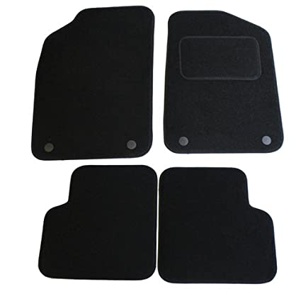 JVL Fully Tailored 4 Piece Car Mat Set with 4 Clips 3027