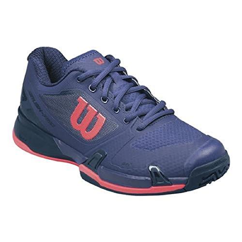 Wilson Rush Pro 2.5 Tennis Shoes Womens - Astral Aura/Evening Blue/Fiery Coal 6 B(M) US