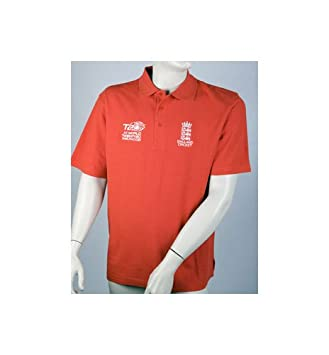 Twenty20 2009 World Cup Polo Inglaterra Shi Talla:small: Amazon.es ...