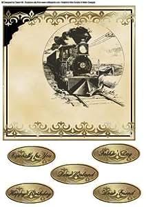 Diseño de macho tarjetas - American Express de Dawn Hill