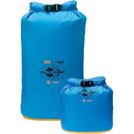 Sea To Summit eVAC Dry Sack Blue, 5L, Outdoor Stuffs
